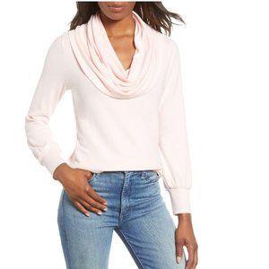 Gibson Cozy Fleece Convertible Neck Sweatshirt